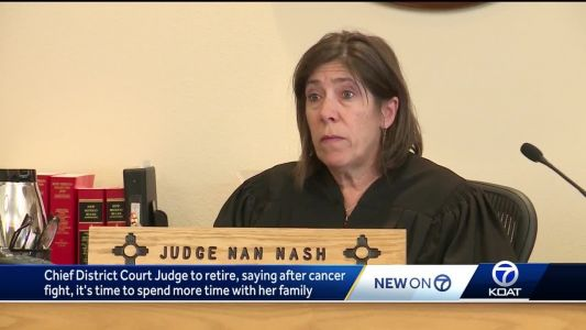 From surviving cancer to being chief judge; Nash tackles new chapter