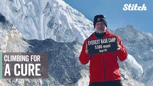 'Every challenge is a blessing': Educator diagnosed with cancer climbs Mount Everest