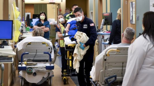 ERs are now swamped with seriously ill patients - but most don't even have COVID