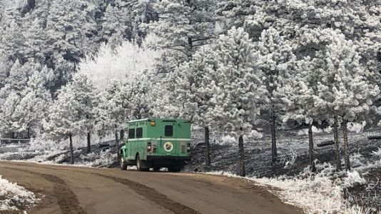 Fight Against Colorado's 2 Largest-Ever Fires Continues, Aided By Snow