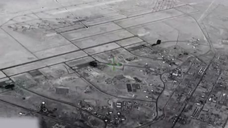 WATCH Iranian missiles rain on US base in Iraq following Soleimani assassination in newly declassified VIDEO