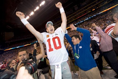 Eli Manning's Top 10 moments