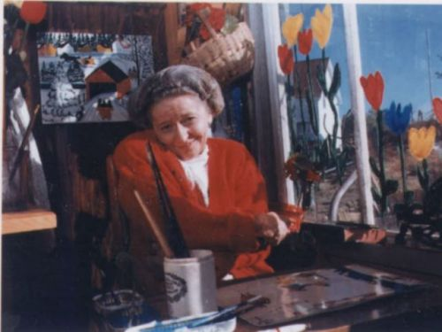 Folk artist Maud Lewis' paintings of idyllic villages, sleds and seagulls a far cry from her dire reality