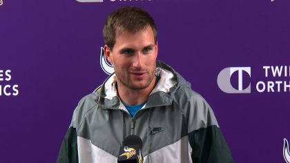 Kirk Cousins Says He's Ready For 2nd Year As Vikings QB