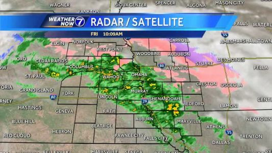 Rain continues Friday, with some breaks, mainly dry this weekend