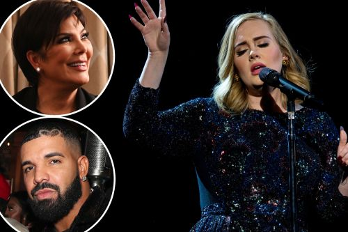 Drake, Kris Jenner and more stars attend Adele's concert special taping