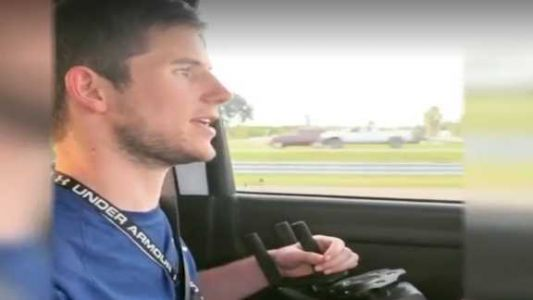 'Give it time': Man paralyzed from football injury, drives for first time in 9 years