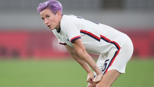 Megan Rapinoe on stunning USWNT Olympics loss to Sweden: 'We got our asses kicked'