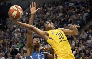 Sparks edge Lynx 77-76 on Gray's shot in WNBA Finals rematch
