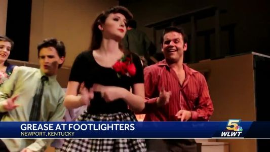 The Footlighters present 'Grease' at The Stained Glass Theater
