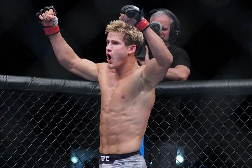 Sage Northcutt already ponders move to middleweight after UFC Boise win at welterweight