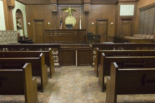 Pooch poops in courtroom during accused dog killer's trial