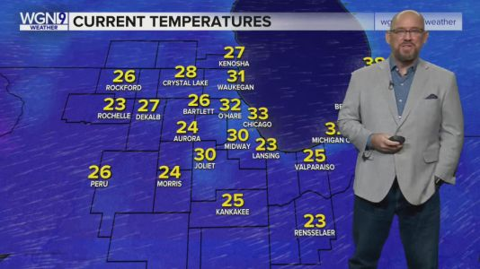 Thursday Forecast: Temps in lower 40s, partly cloudy with nice conditions