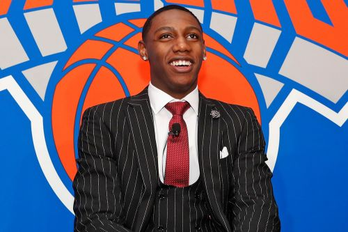 Hyped-up RJ Barrett gets taste of his new Knicks' experience