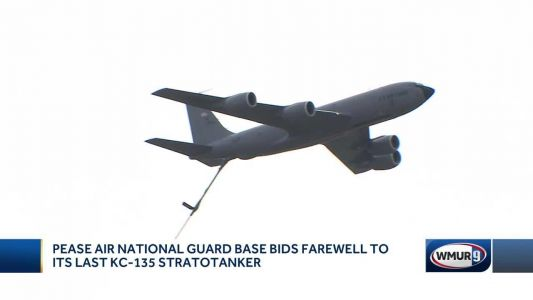 Pease Air National Guard Base bids farewell to its last KC-135 Stratotanker