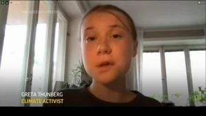 Thunberg: Not too late to act in Climate fight