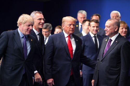 Trump meets with Erdogan as other world leaders scold Turkey
