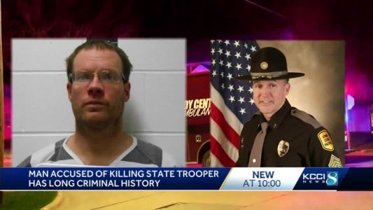 Man accused of killing Iowa trooper won 2020 primary election for county sheriff