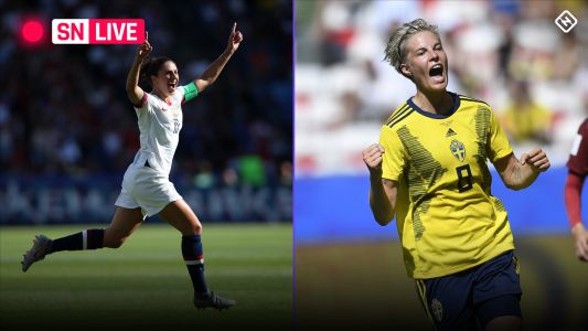 USWNT vs. Sweden: Live score, updates, highlights from USA's World Cup match