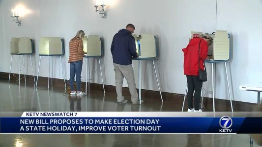 New bill proposes to make Election Day a state holiday