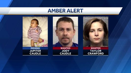 Amber Alert issued for missing child