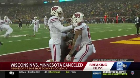 Badger game vs. Minnesota canceled Saturday due to COVID-19