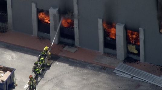 Fire engulfs Longwood building set to be sushi restaurant