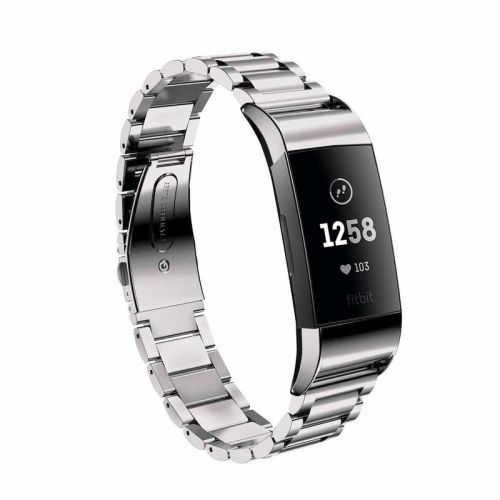 Add elegance to your Fitbit Charge 3 with these metal bands