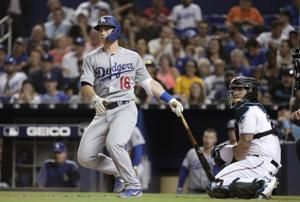 Dodgers hit 6 homers, pummel Marlins 15-1