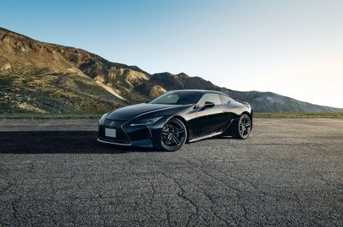 Lexus just took its coolest car to the next level with all-black, airplane-inspired styling - check it out