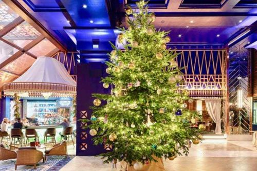 Decked with $15 million in jewels, this may be the world's most expensive Christmas tree