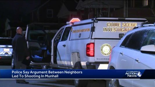 Police: Munhall man arrested after shooting neighbor during argument