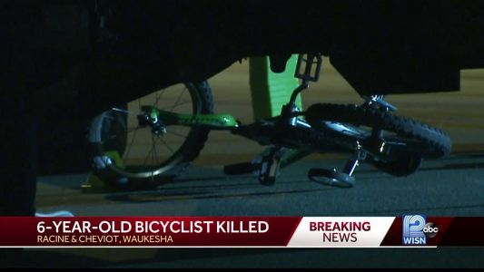 6-year-old bicyclist hit and killed in Waukesha