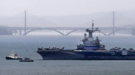 50 cases of Covid-19 aboard France's ONLY aircraft carrier, Defense Ministry confirms