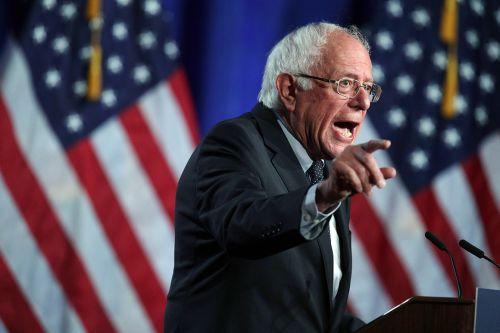 Sanders swipes at rivals, makes a case for 'Medicare for All'