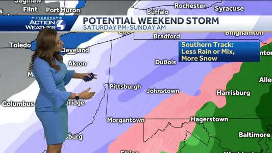 Snow on the way: Multiple possibilities for weekend storm