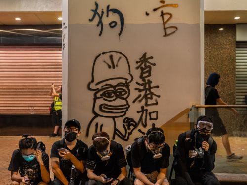 Pepe the Frog, an alt-right symbol in the US, has emerged as the face of the Hong Kong protests