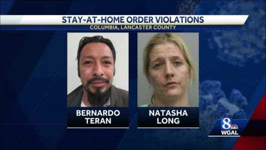 Columbia police arrest two people for violating the stay-at-home order