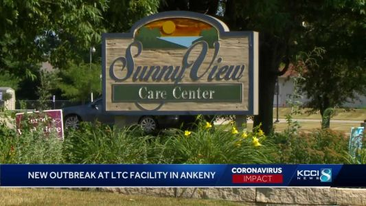 Ankeny long-term care facility reports COVID-19 outbreak