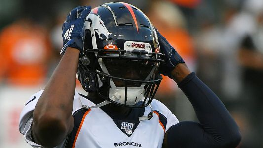 NFL news and notes: Emmanuel Sanders, Mohamed Sanu traded; Adrian Peterson will play Vikings