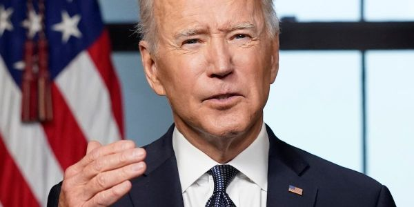 Biden called George W. Bush before he announced his Afghanistan troop withdrawal plan - but neither said whether Bush supported it