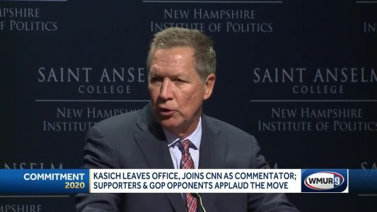 Kasich moves to CNN after leaving office