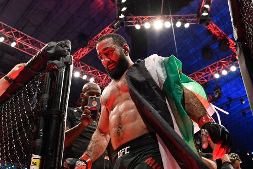 Belal Muhammad says Sean Brady is out of their fight, wants Mike Perry as a replacement