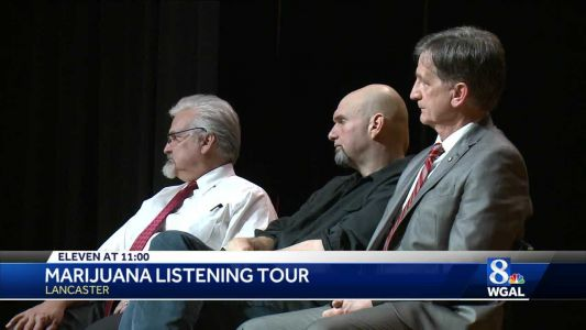 Lieutenant governor's marijuana listening tour stops in Lancaster county