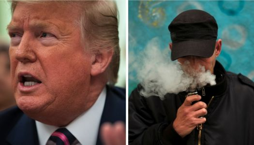 Trump reportedly said 'I should never have done that f--ing vaping thing,' expressing regrets over his involvement in e-cigarette policy