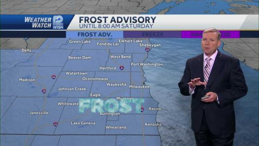 Weather: Another Frost Advisory