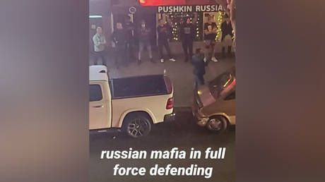 Ushanka not pass! RT speaks to owner of San Diego restaurant guarded by 'RUSSIAN MAFIA' in viral pic