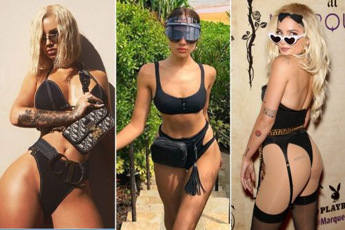 Belted thongs are summer's latest questionable celebrity trend