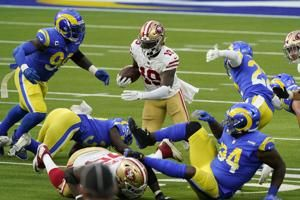 Gould hits FG at gun, 49ers hand Rams first SoFi loss, 23-20