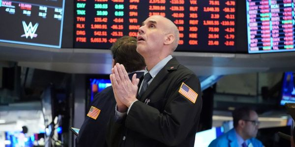 Dow plunges 346 points as Fed Chairman Jerome Powell preaches 'patience' on inflation spike